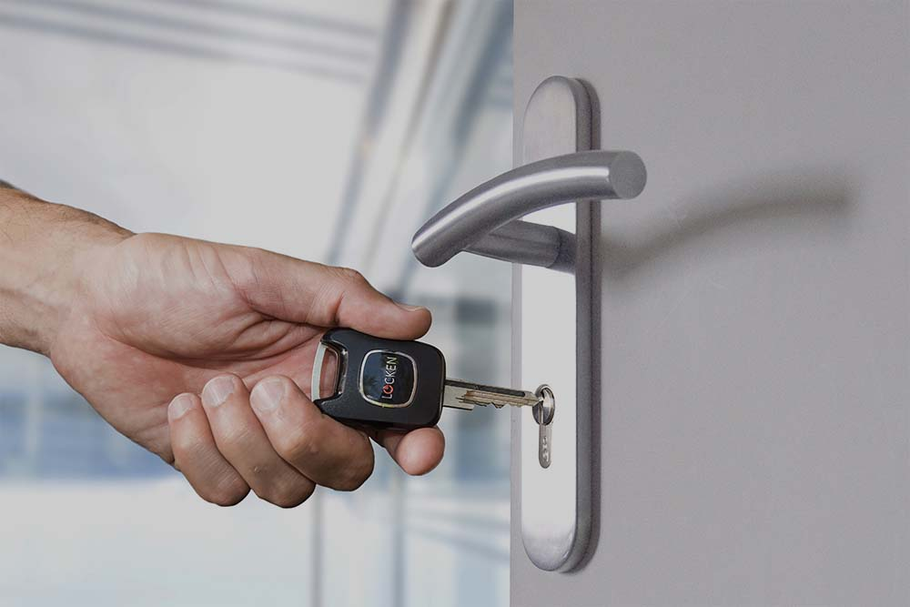Innovative solutions for Locken access control by electronic key